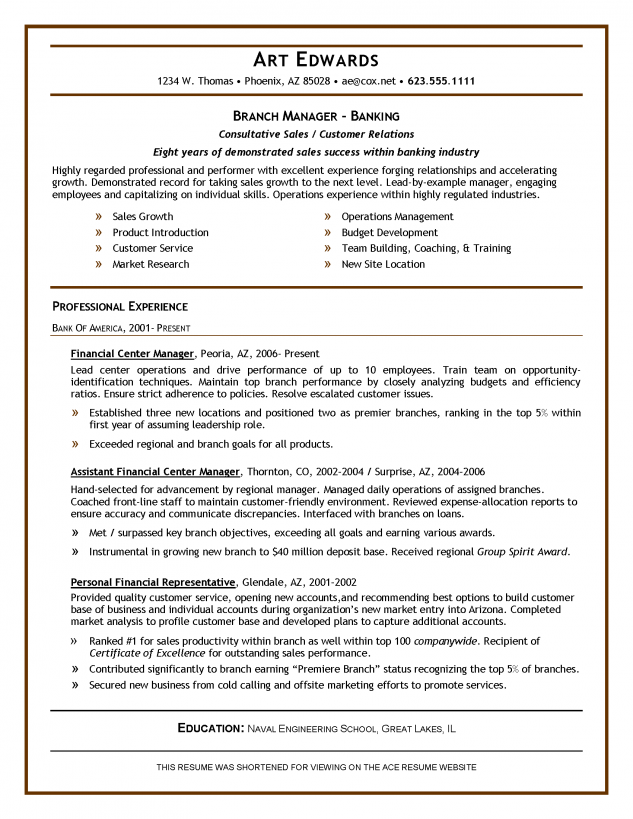 view sample resumes inglewood - View Sample Resumes